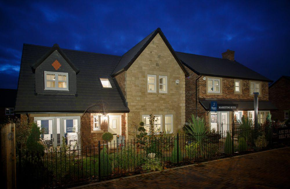 One Story House Christmas Lights.First Look At Warwick Show Home Decked Out For Christmas