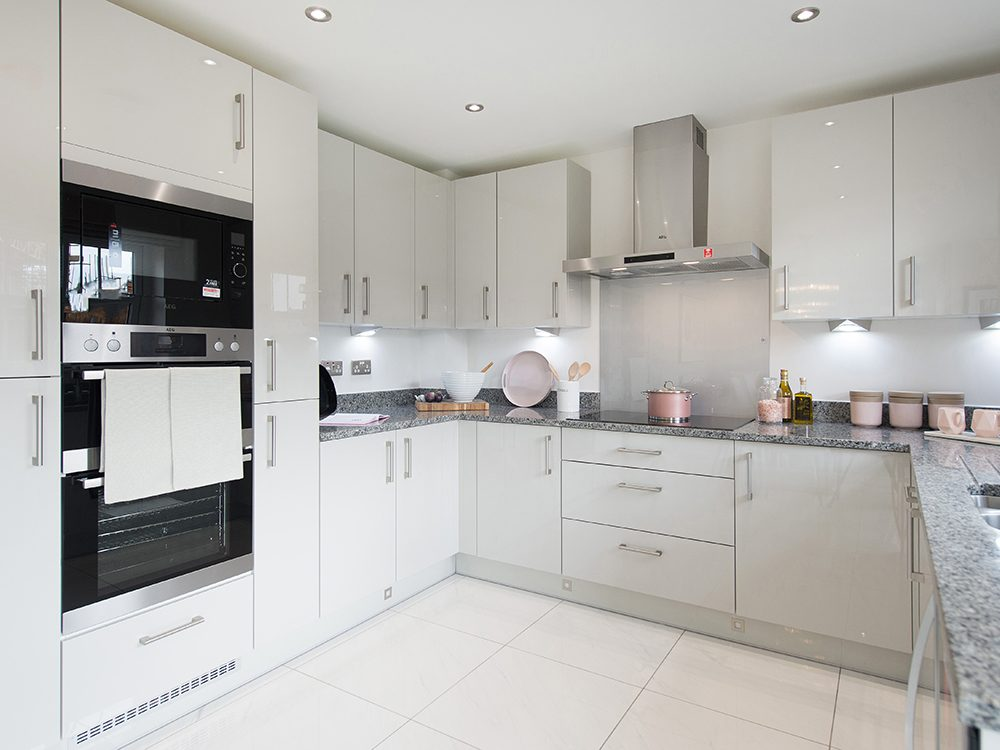 The Gosforth show home at Brookfield Woods, kitchen