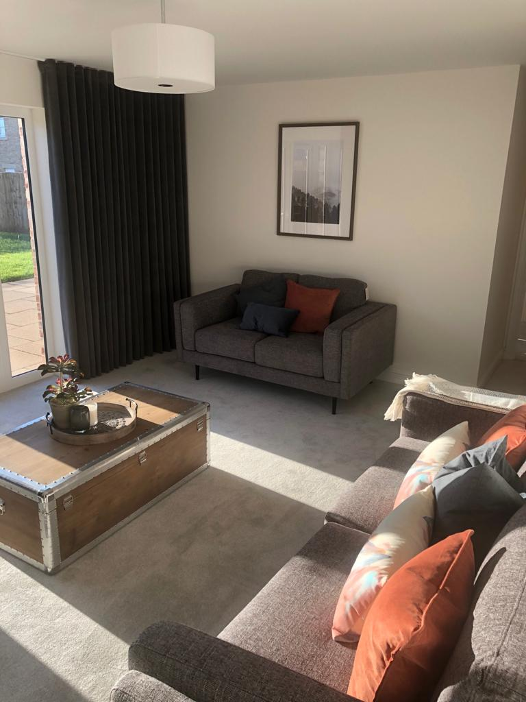 Lounge of the Oxford view home at Fallows Park, Wynyard