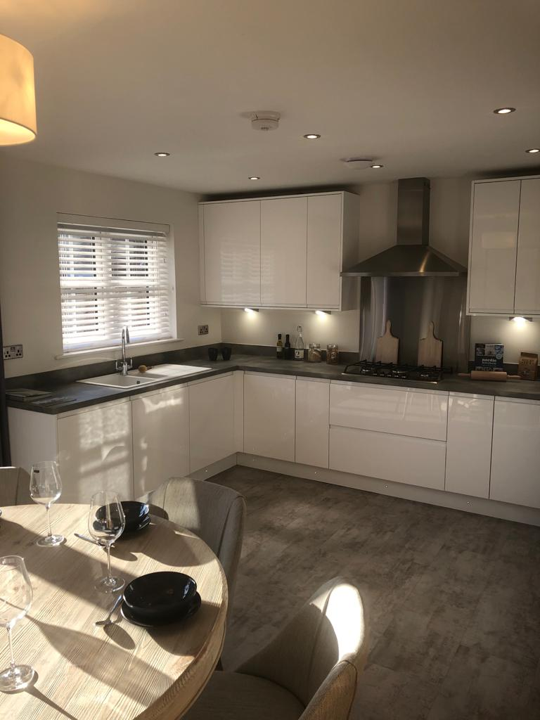 Kitchen of the Oxford view home at Fallows Park, Wynyard