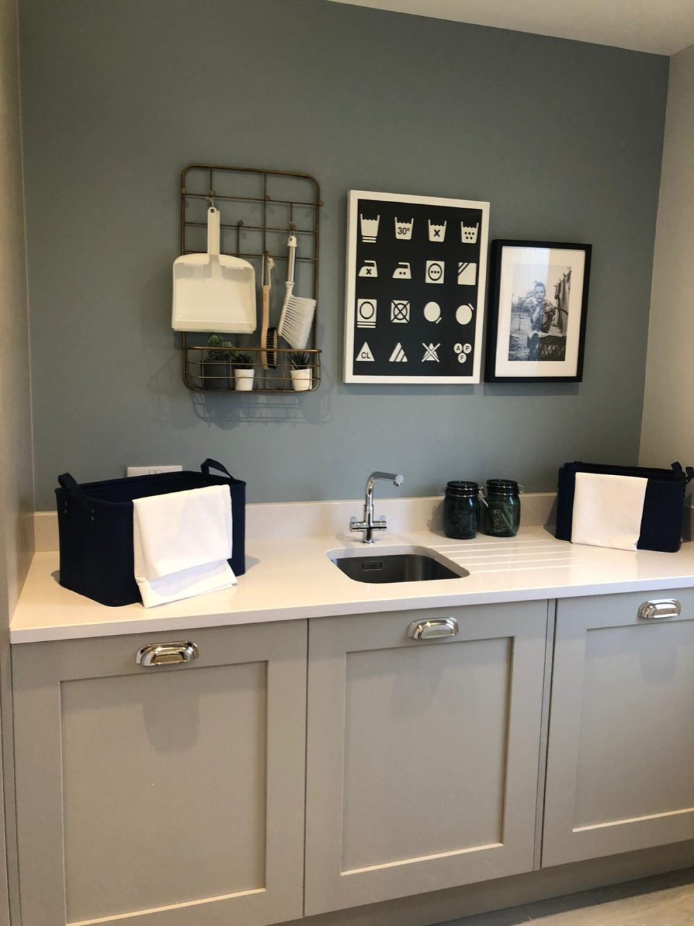 The Ridings, show home, utility room