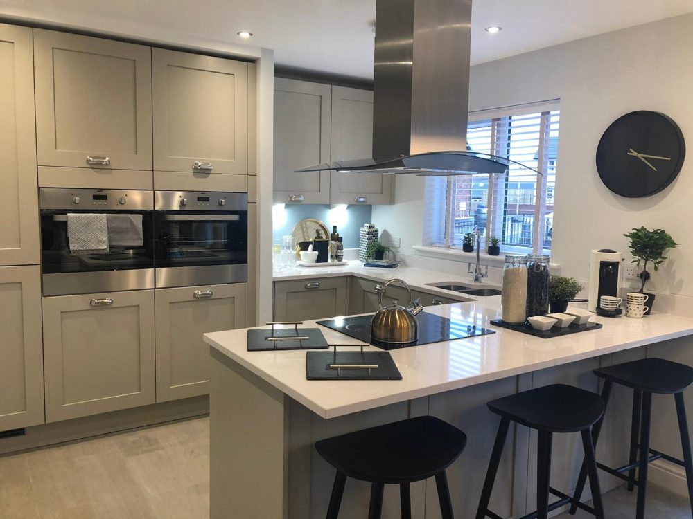 The Ridings, show home, kitchen/diner