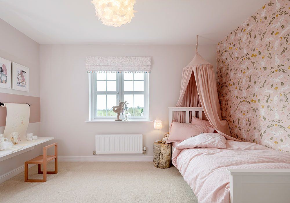 Children's bedroom in the Graham at Kinmont Rise, Scotby