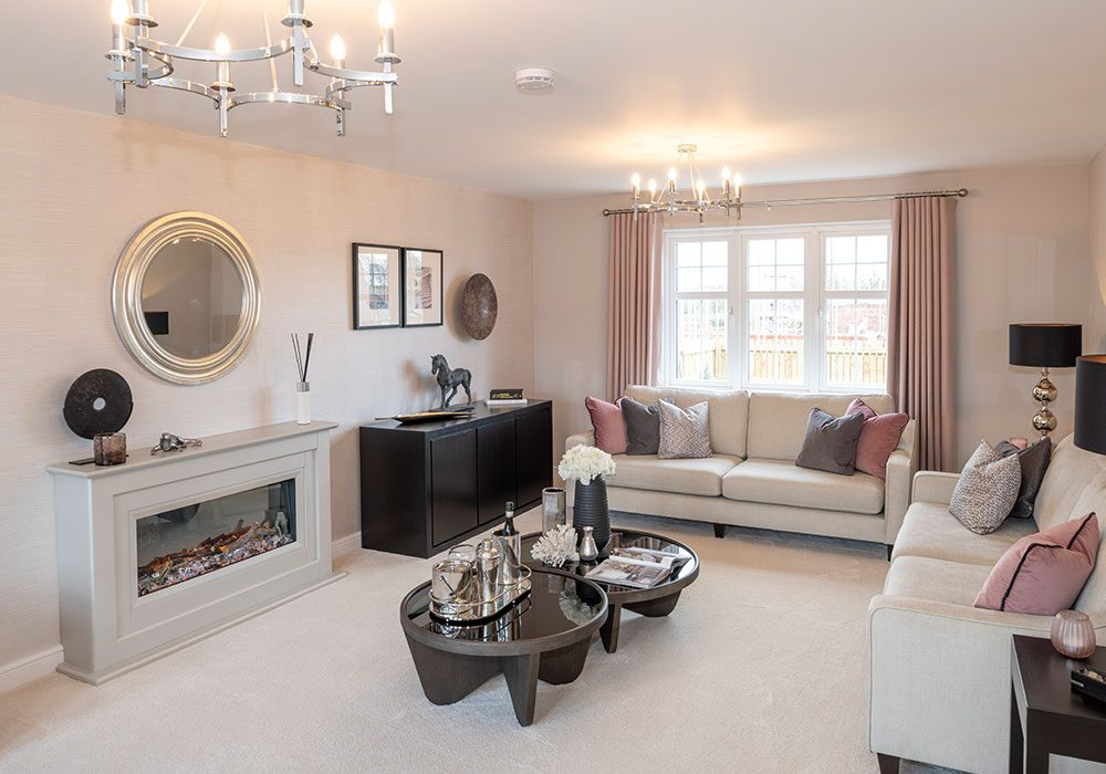 The lounge in the Graham at Kinmont Rise, Scotby