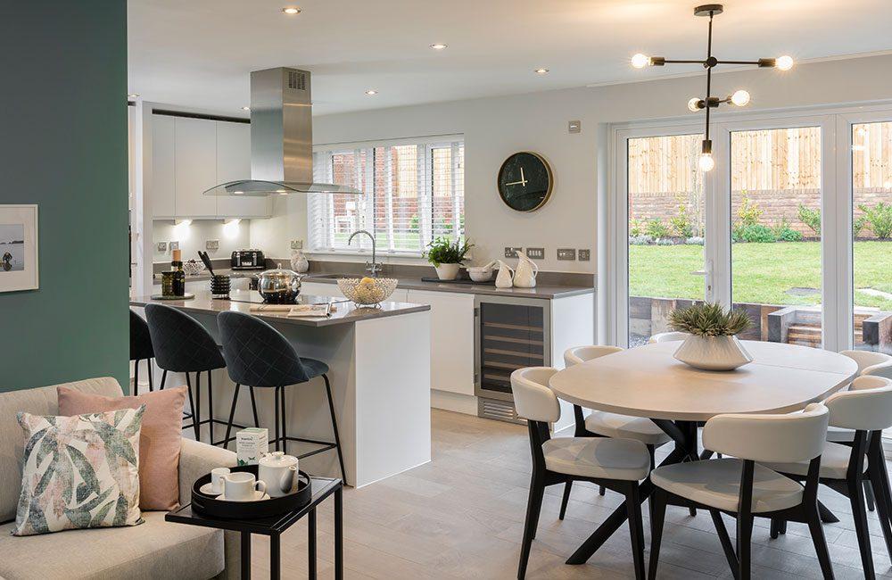 Charlton kitchen at Heaton Green