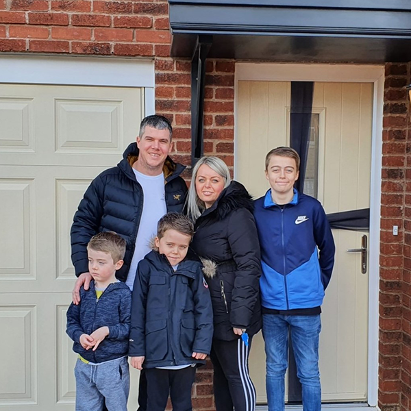 Family #MoveOnUp to a Sanderson at Heaton Green