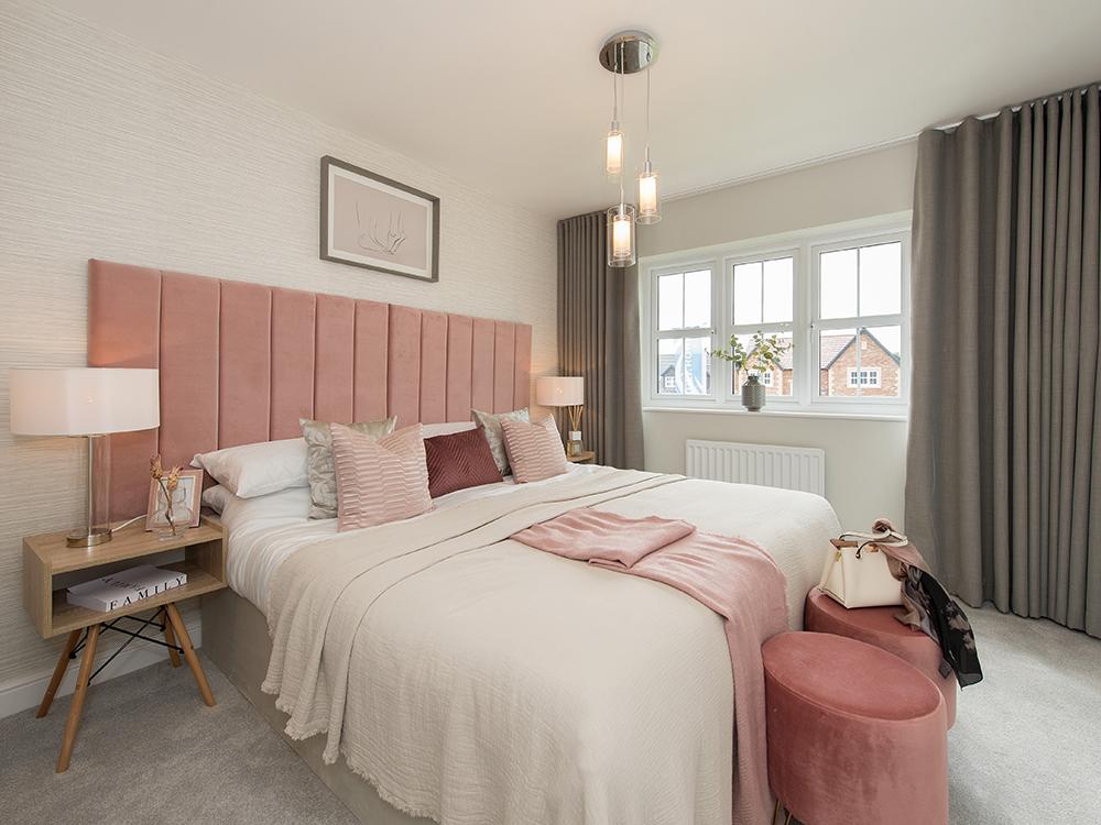 The Butler master bedroom