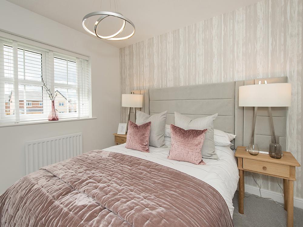 The Butler guest bedroom