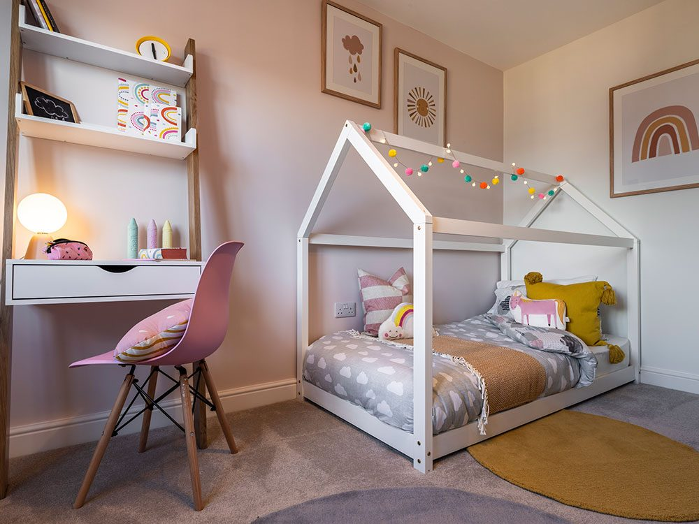 The Pearson kids bedroom